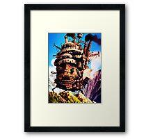 Howls Moving Castle Framed Print