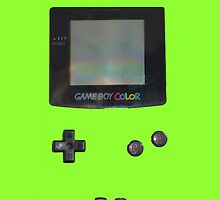 Lime Green Gameboy Colour by Sir Slay Design