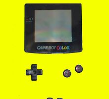 Yellow Gameboy Colour by Sir Slay Design