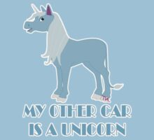 my other car is a unicorn  by Tia Knight