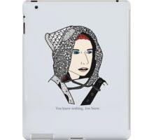 Ygritte [ Print / Iphone / Ipod / Ipad ] iPad Case/Skin