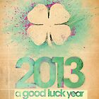 2013, a good luck year by Puchu
