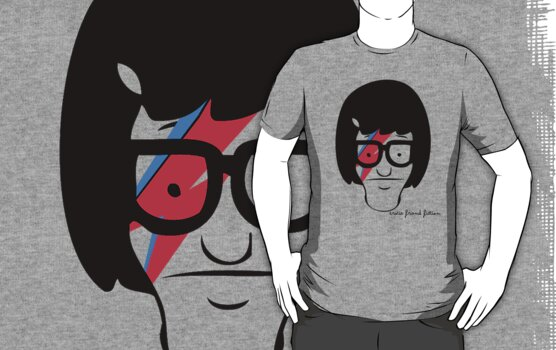 Tina Belcher meets David Bowie by bertviles
