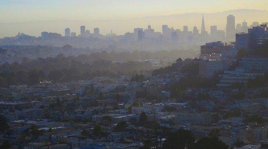 Silhouette San Francisco by David Denny