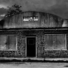 Hibler Country Store (B&W) by Carla Jensen