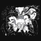 Poe Vs. Lovecraft by jkilpatrick