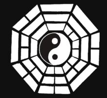 Pakua - Eight Trigrams design (White) by neonblade