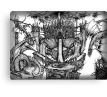 Dragon Kingdom Canvas Print