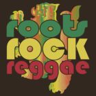 roots.rock.reggae LION by ChungThing