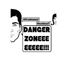 Dangah Zone BLK Photographic Print