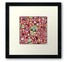Laughing Skull Framed Print