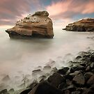 Sunset Cliffs by jswolfphoto