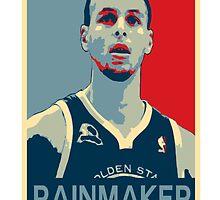 Stephen Curry - Rainmaker by Joelzke