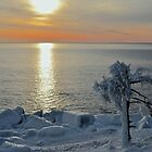 Sunrise After Snow and Ice by Dan Hatch