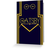 The Great Gatsby Greeting Card