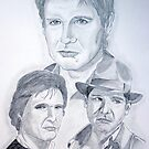 Harrison Ford by Eva  Ason