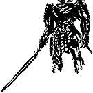 Silver Samurai by aizo
