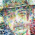 CAPTAIN BEEFHEART WATERCOLOR PORTRAIT.3 by lautir