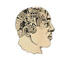 Phrenology iPhone Cover by Ollie Mason