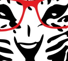 Nerdy Leopard Sticker
