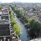 View from Westerkerk Tower by noomrevlis