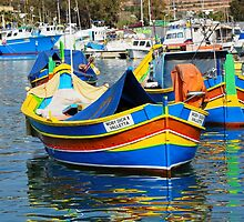 Maltese Boats by sgrixti