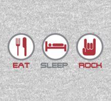 Eat Sleep Rock Kids Clothes