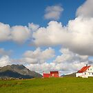 Mountain village in northern Norway by DmiSmiPhoto