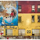 Mural Art at 9th and W42 by Michel Godts