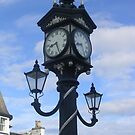 The Ullapool Village Clock by lezvee