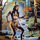 The Huntress by Bill Blair