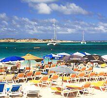 Orient Beach, St. Martin by Roupen  Baker