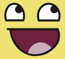 Awesome Face / Epic Smiley by posx ★ $1.49 stickers