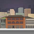 Downtown Buildings by Alexa Rhoads