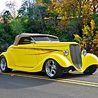 1934 Ford Roadster Gold Country by DaveKoontz