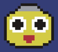 Servbot Pixelated (Mega Man Legends) by Bob Buel