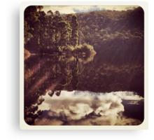 Sunrays and Sundays ~ Postcards from the edge Canvas Print