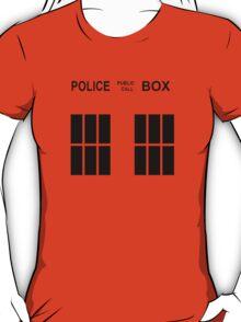 TARDIS Police Box T-Shirt