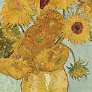 Sunflowers - Van Gogh by skyeaerrow