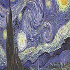 Starry Night - Van Gogh by skyeaerrow