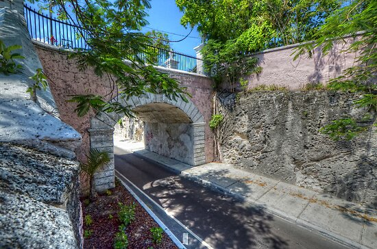 Gregory Arch in Nassau, The Bahamas by 242Digital