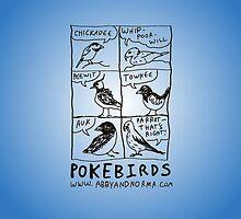 Pokebirds by Erika Hammerschmidt