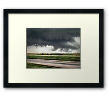 First Funnel Framed Print