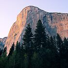 Sun Setting On Half Dome by Timothy Frink