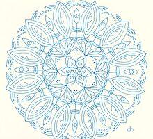 Bloom Mandala by Daniel ML