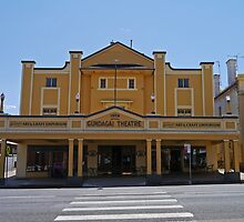 Gundagai Theatre, NSW, Australia by Margaret  Hyde