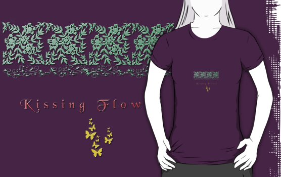 Kissing Flower  - Shirt Design by scatharis