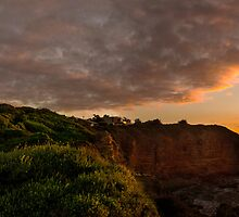sunrise and the light house by ketut suwitra