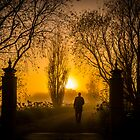 Morning Walk - Ocean Grove Victoria by Graeme Buckland