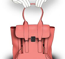 Fashion Illustrator - Handbags At Dawn  by BeckiBoos